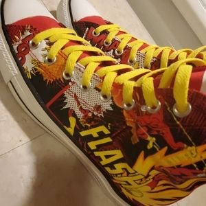 CONVERSE ALL STAR, THE FLASH COLLABORATION SIZE 10